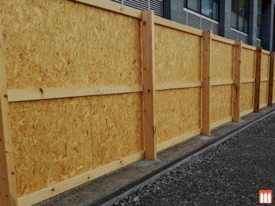 Timber Hoarding